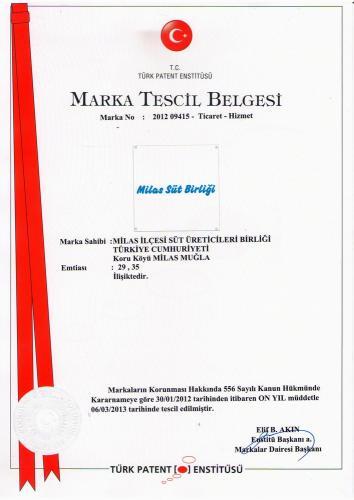Milas-SÜt-Birliği